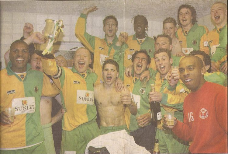 2001/2 Sussex Flodlight Cup winners
