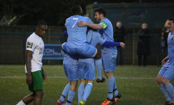 Whyteleafe 0 Horsham 2