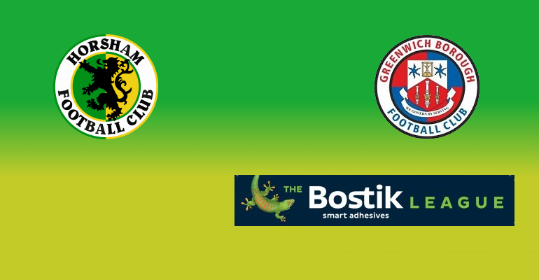 Horsham vs Greenwich Borough: MATCH PREVIEW