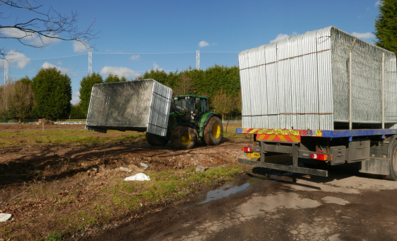 Hop Oast site begins to take shape