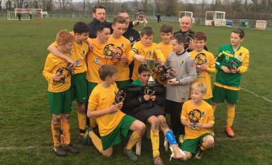 Championees! U12s crowned cup kings