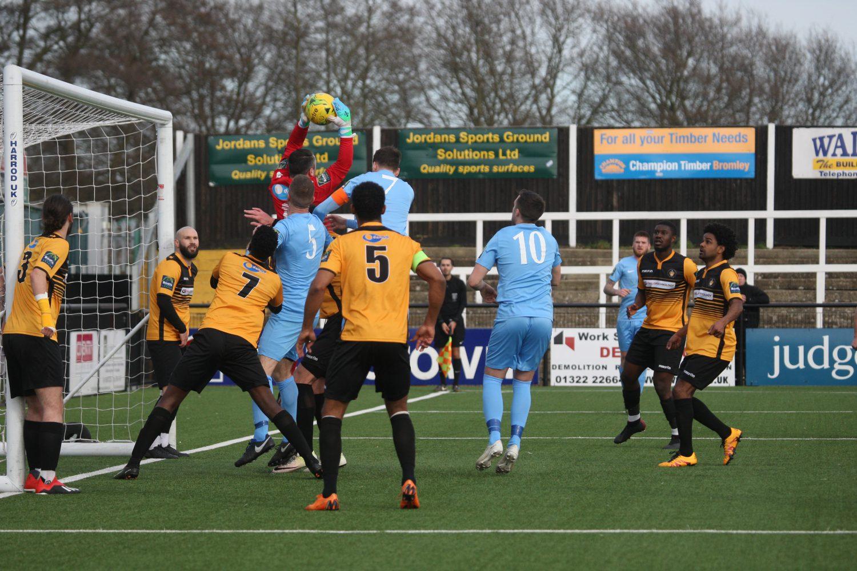 Cray Wanderers vs Horsham