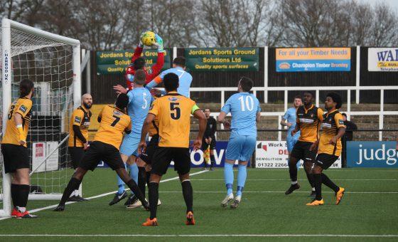 Cray Wanderers 2 Horsham 0